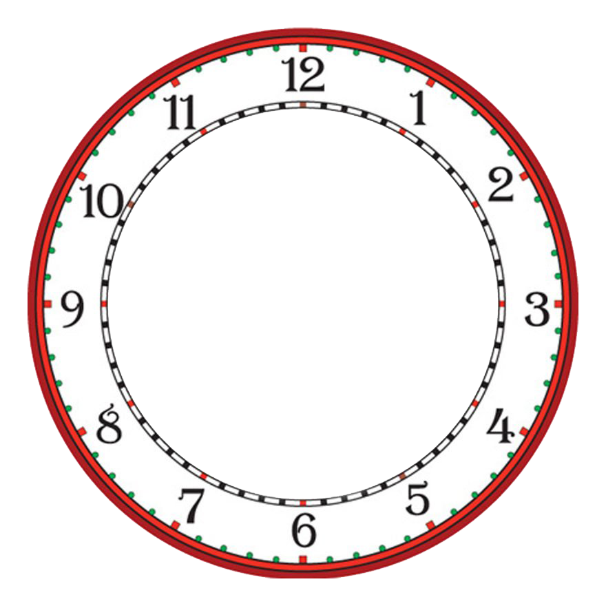 Printable clock templates blank clockface without hands clock pronofoot35fo Image collections