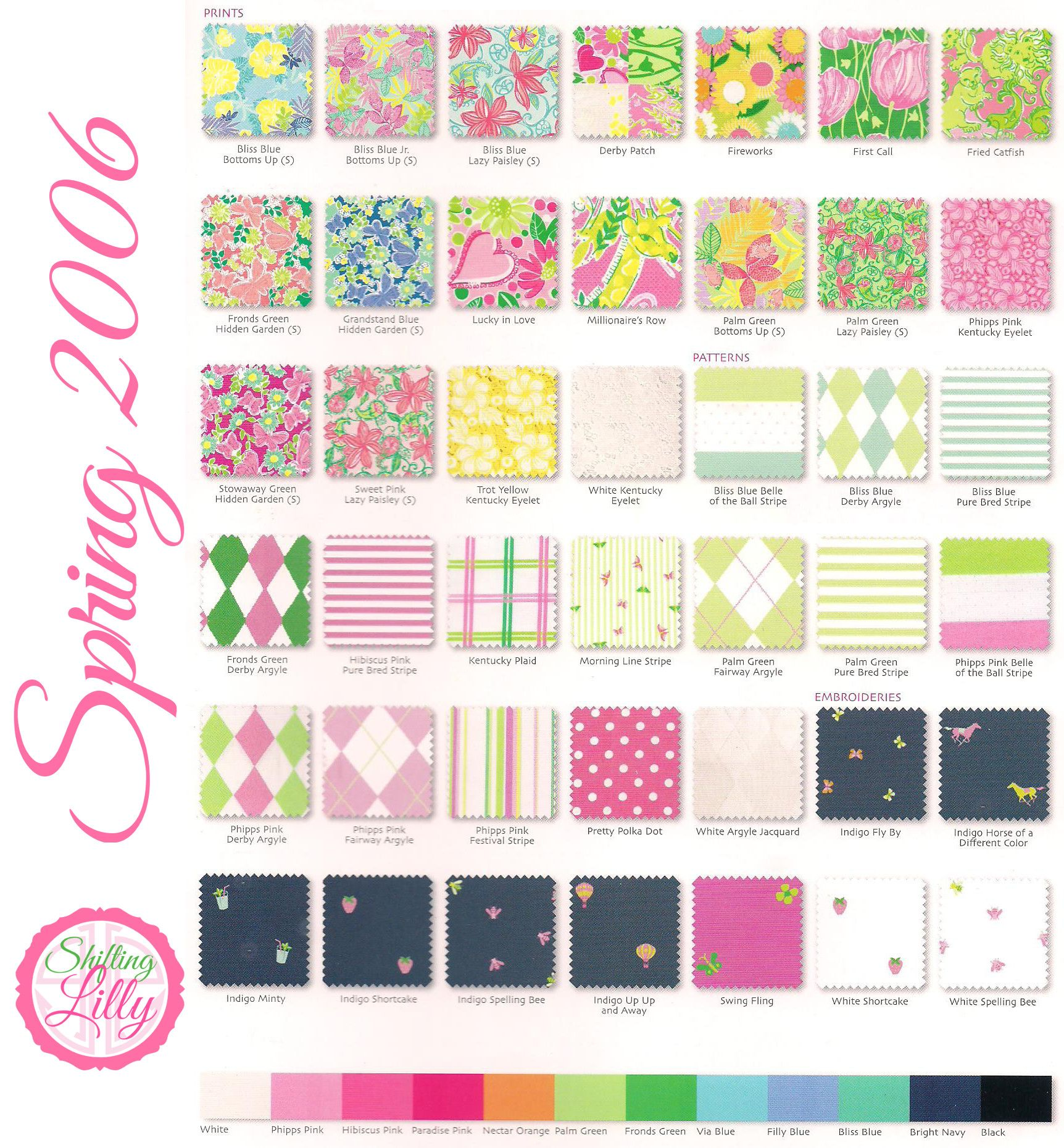 384877a48b76d6 Lilly Pulitzer Prints From Spring 2006 Page 1 | Lilly Pulitzer ...