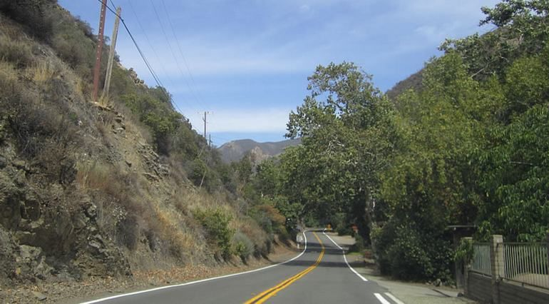 Santiago Canyon Orange County's last country road trip. Points of interest along County Highway 18. Cooks Corner to Irvine Lake. Cooks Corner