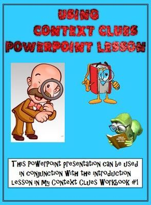 Context Clues PowerPoint Lesson (Correlates with my Workbook #1) from PopsShop on TeachersNotebook.com -  (16 pages)  - Context Clues; PowerPoint Mini-Lesson; English Language Arts; Reading Strategies; Vocabulary Development; ELA Test Prep