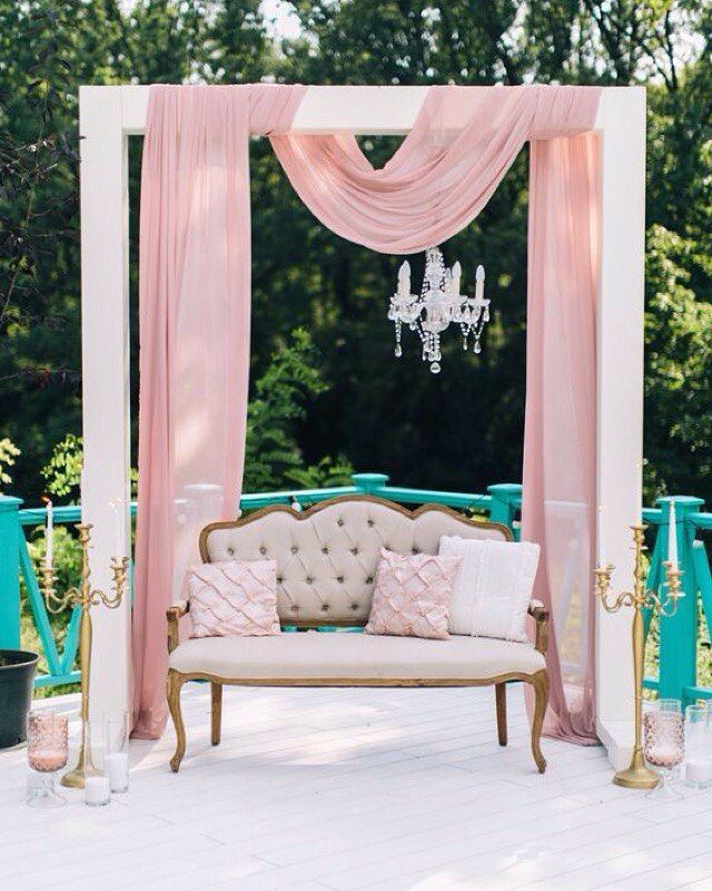 Аренда декора для свадьбы и фотосессии. Фотозоны   Розовые ...
