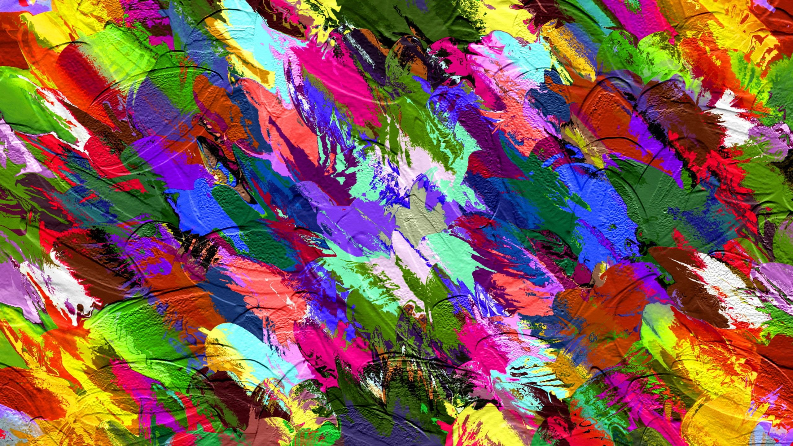 abstract colors wallpaper in 2560x1440 | ideas majo | pinterest