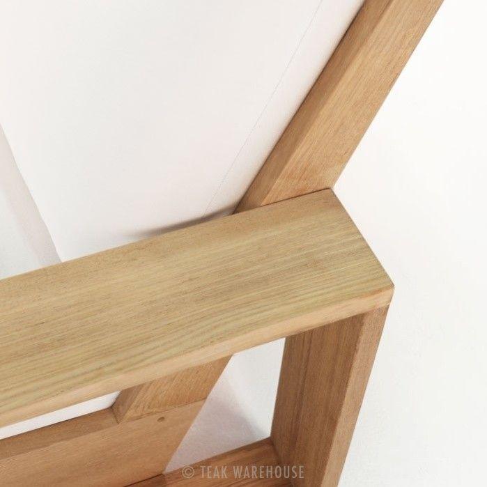 kuba teak outdoor club chair closeup view   Ahşap mobilya ...