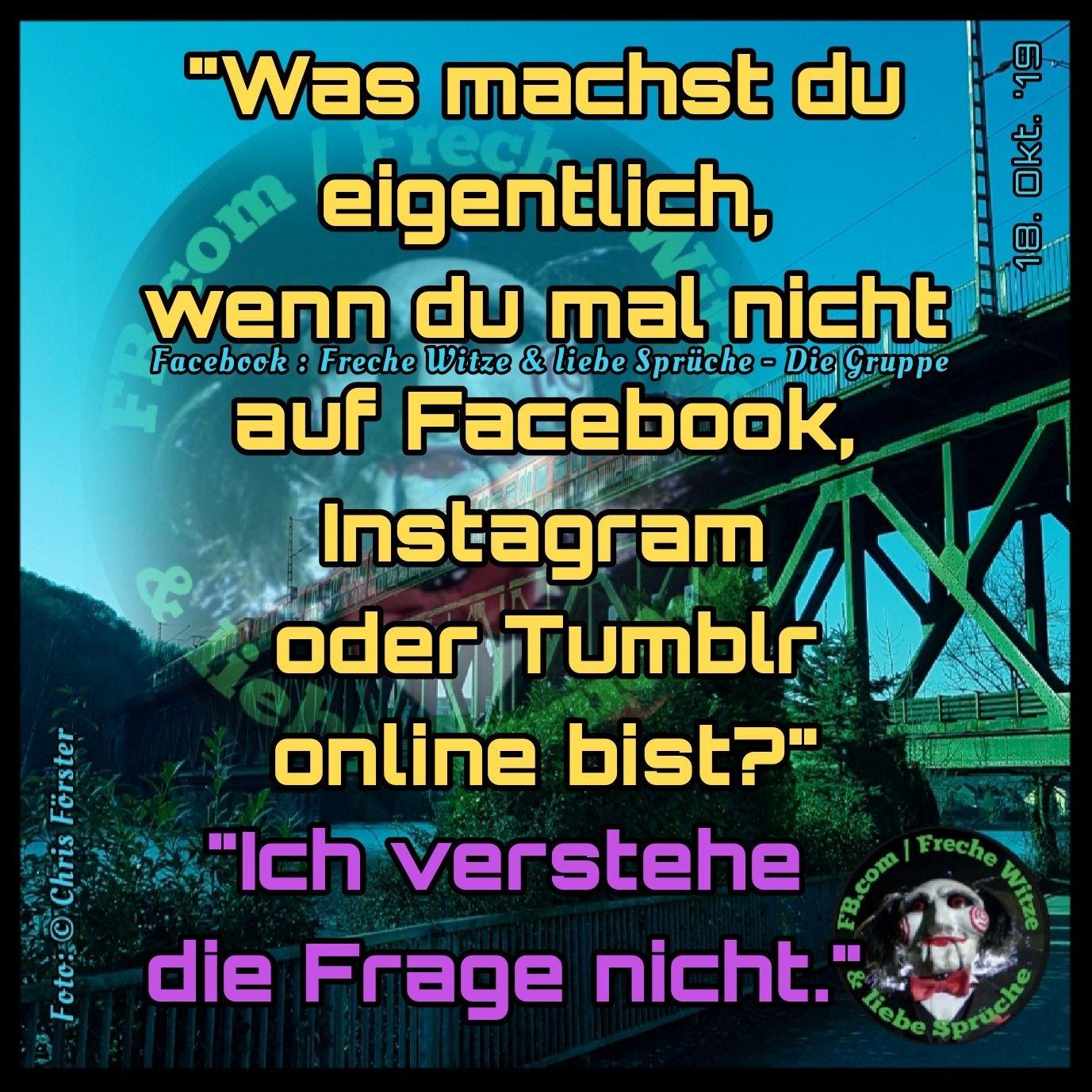 Facebook : Freche Witze & liebe Sprüche - Die Gruppe #