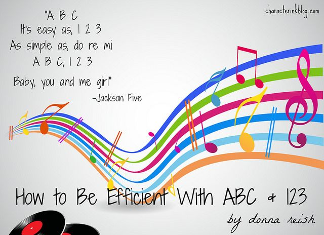 Efficiency As Easy As Abc 123 Do Re Mi Baby You And Me Abc Homeschool Organization You And I