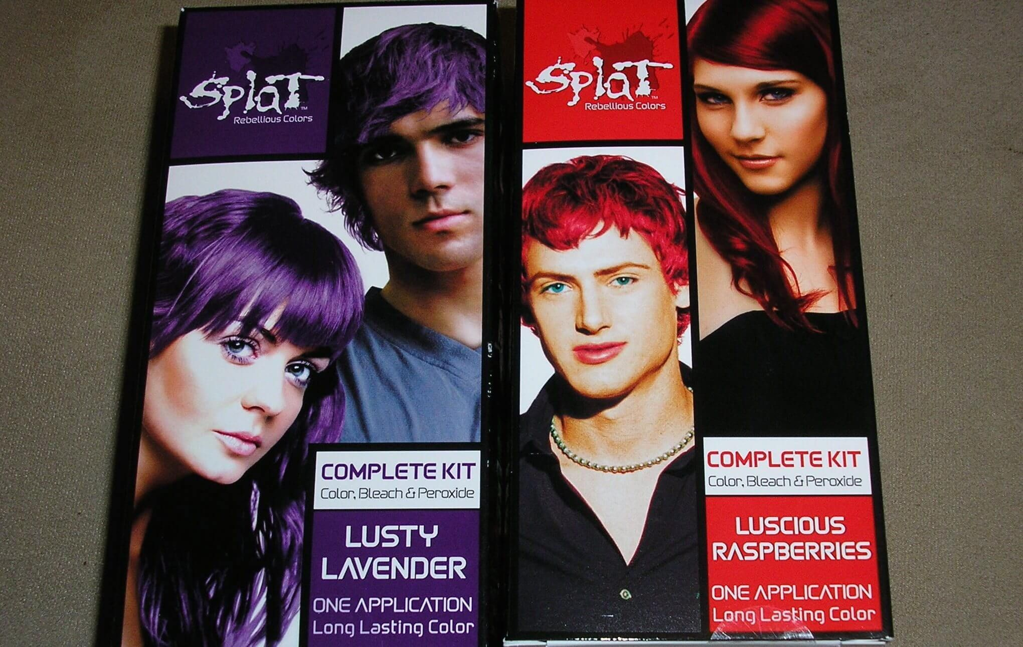 Free Splat Hair Dye Kit From Viewpoints Freebiefriday Coupons Freebiesinthemail Samples Giveaway Freesampl Splat Hair Color Splat Hair Dye Dyed Red Hair