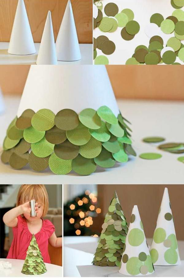 Arts And Crafts Christmas Ideas Part - 46: Top 33 Easy Handmade Christmas Crafts For Your Kids, You Can Make It By  Yourself And Enjoy With Your Children And Have Fun.
