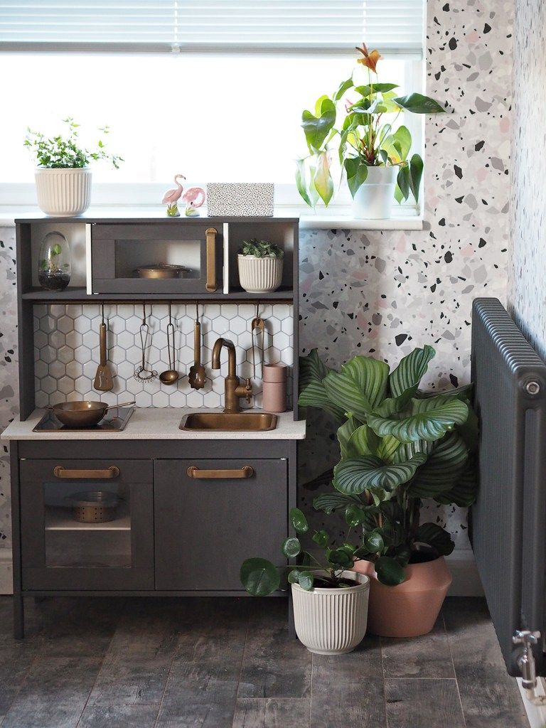 ikea duktig play kitchen with aldi upcycling range ikea play kitchen ikea kids kitchen diy on kitchen island ideas diy ikea hacks id=57369