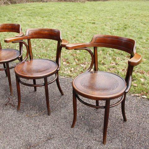 Fischel Bentwood Chairs A Set Of 12 All C1920 Andrew Nebbett