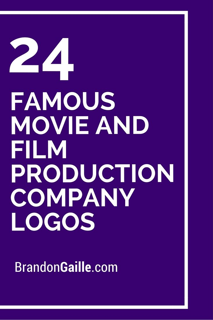 List Of Famous Movie And Film Production Company Logos Logos And