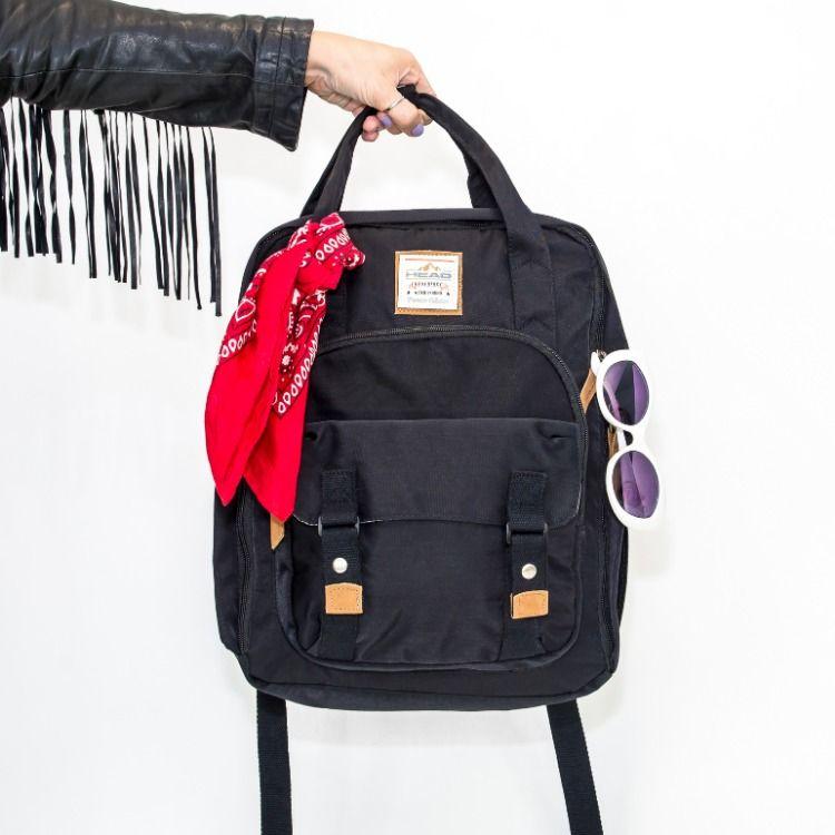 e962c20ec La #mochila #Alpha de #Head tiene un compartimento amplio con organizador  bolsillo exclusivo
