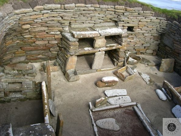 Visit A 5000 Year Old House At Skara Brae Neolithic Village Orkney