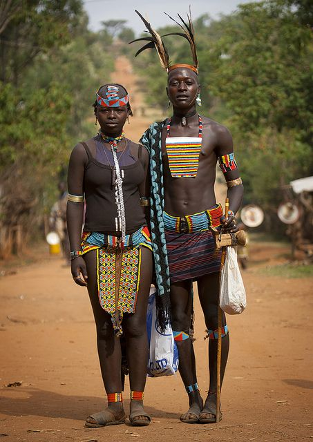 goodnumberone: Bana couple - Key Afer Ethiopia by Eric