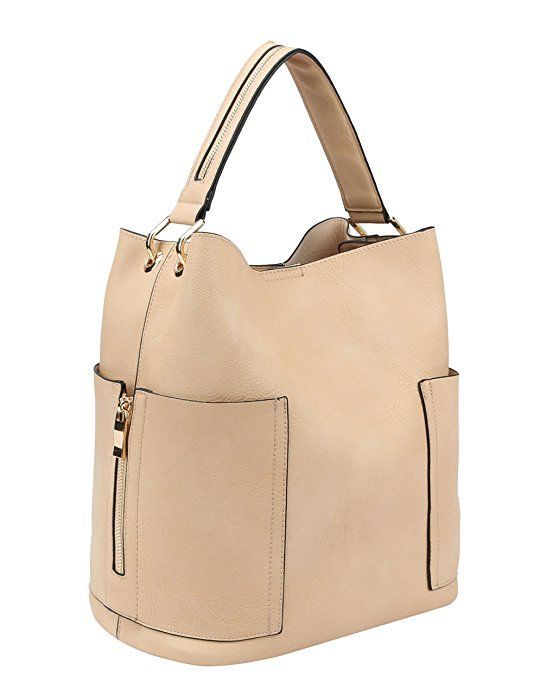 Handbag Republic Women Handbag PU Leather Top Handle Bag Korean Fashion  Tote Style With Side Zipper Pouch  Handbags  Amazon.com 2c7295e7113cf