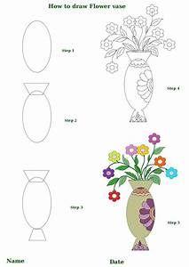 how to draw flower vase | Draw | Pinterest Flower Vase To Draw on floral to draw, roses to draw, bowl to draw, frame to draw, animals to draw,