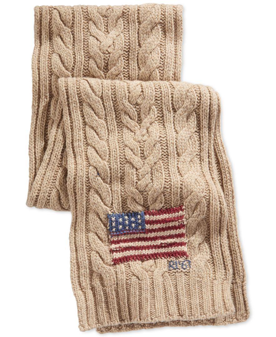 Polo Ralph Lauren Flag Muffler