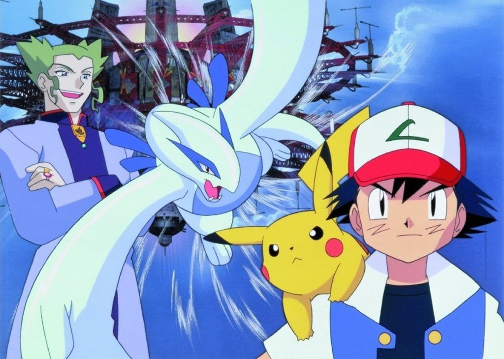 Pokemon The Movie 2000 The Power Of One Pokemon Movies Pokemon
