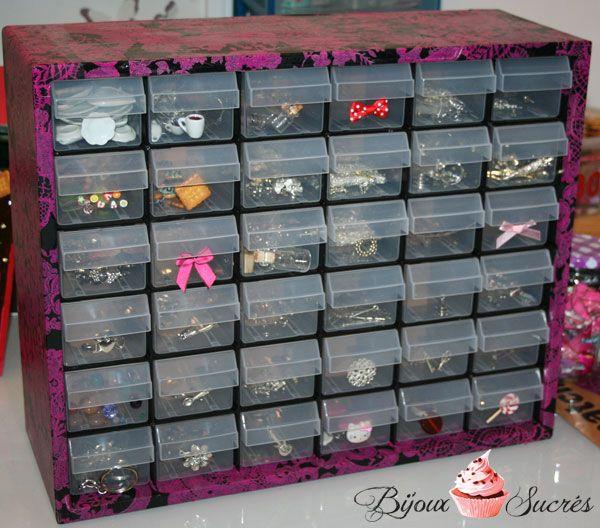 boite rangement fimo bijoux astuces rangement pinterest rangement fimo boite rangement. Black Bedroom Furniture Sets. Home Design Ideas