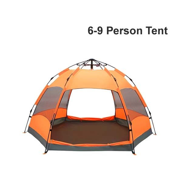 $98 DHL Delivery Cheap 6-8-9 Person Hexagonal Dome Tent ...
