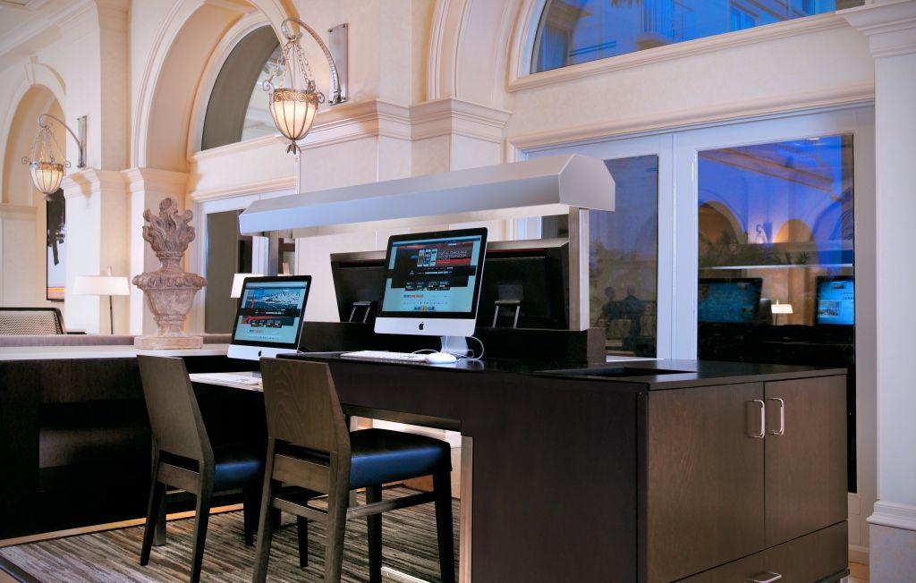 Hilton Naples's 24 hour Connectivity Center