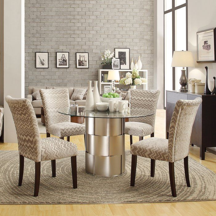 House Of Hampton Cliburn 5 Piece Breakfast Nook Dining Set