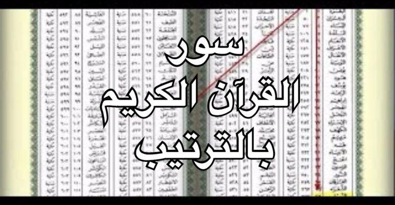 ترتيب السور حسب النزول وخصائص القرآن الكريم Bullet Journal Journal Notebook