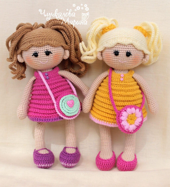PATTERN Pumposhka doll PDF crochet doll pattern | Patrones de ...