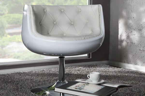 2017 Cocktailsessel Weiß