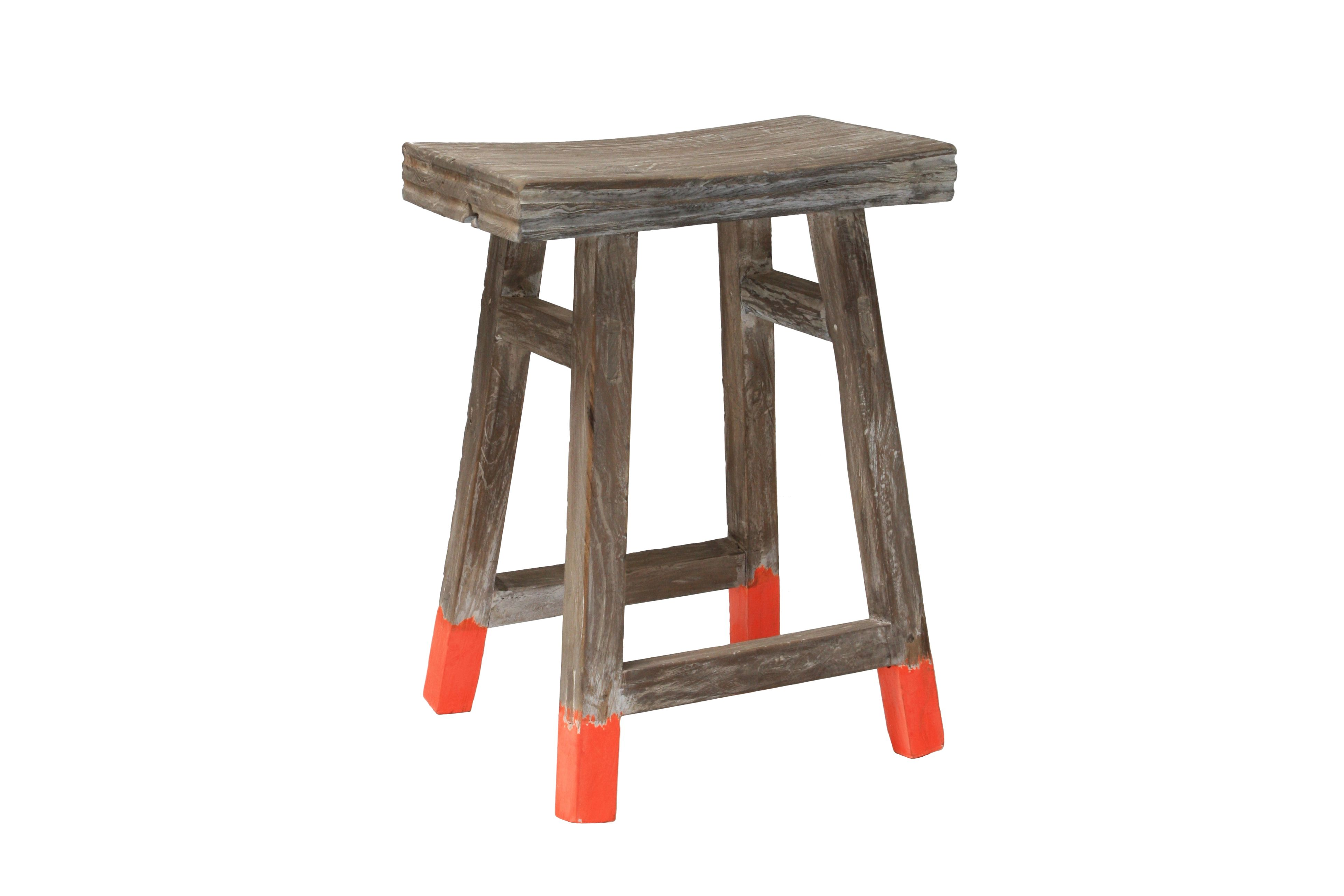 Neon Dipped Stool