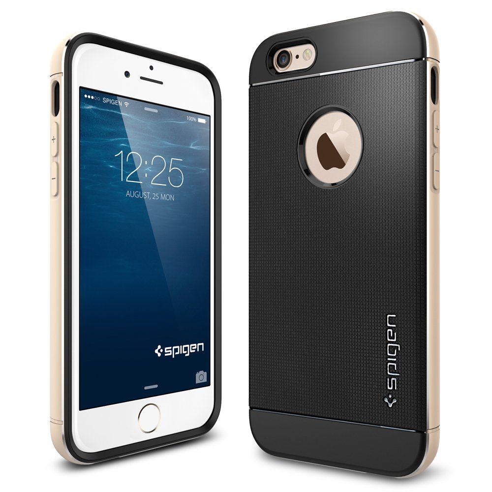 Amazon.com: iPhone 6 Plus Case, Spigen Neo Hybrid Metal Case for ...