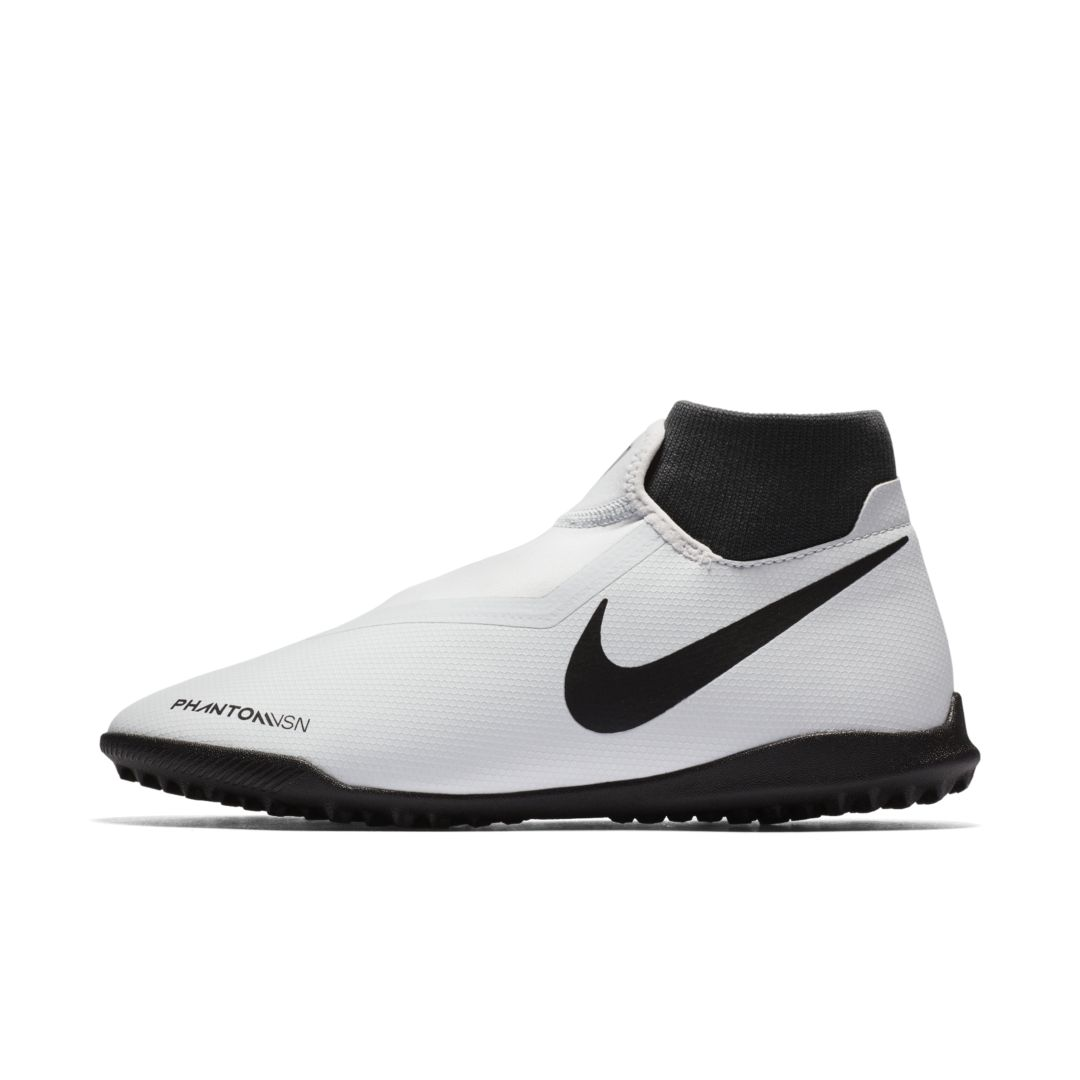 Nike Phantom Vision Academy Dynamic Fit Turf Soccer Shoe Size 11 5 Pure Platinum Soccer Shoe Football Shoes Football Boots