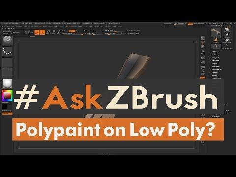 """#AskZBrush: """"I get artifacts using ProjectAll is there a way to fix this?"""" - YouTube"""