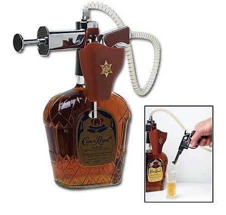 crown royal tap machine