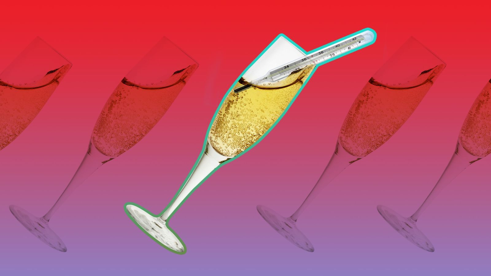 There S An Ideal Temperature For Your Champagne Champagne Mini Champagne Sparkling Wine