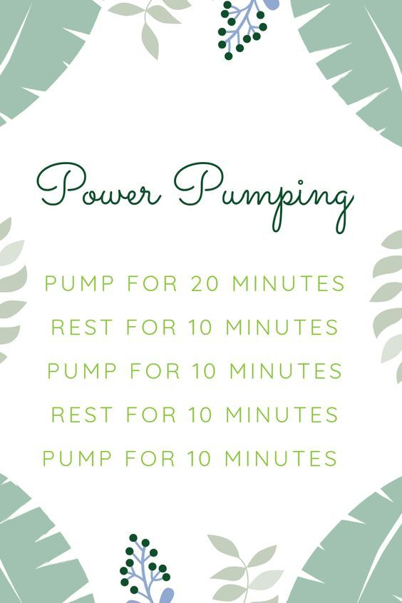 How I Survived 9 Months of Exclusively Pumping   Power ...