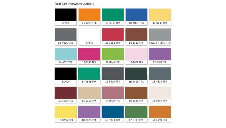 tendances couleurs hiver 2016 2017 palette de couleurs en 2019 tendencias de moda moda et. Black Bedroom Furniture Sets. Home Design Ideas