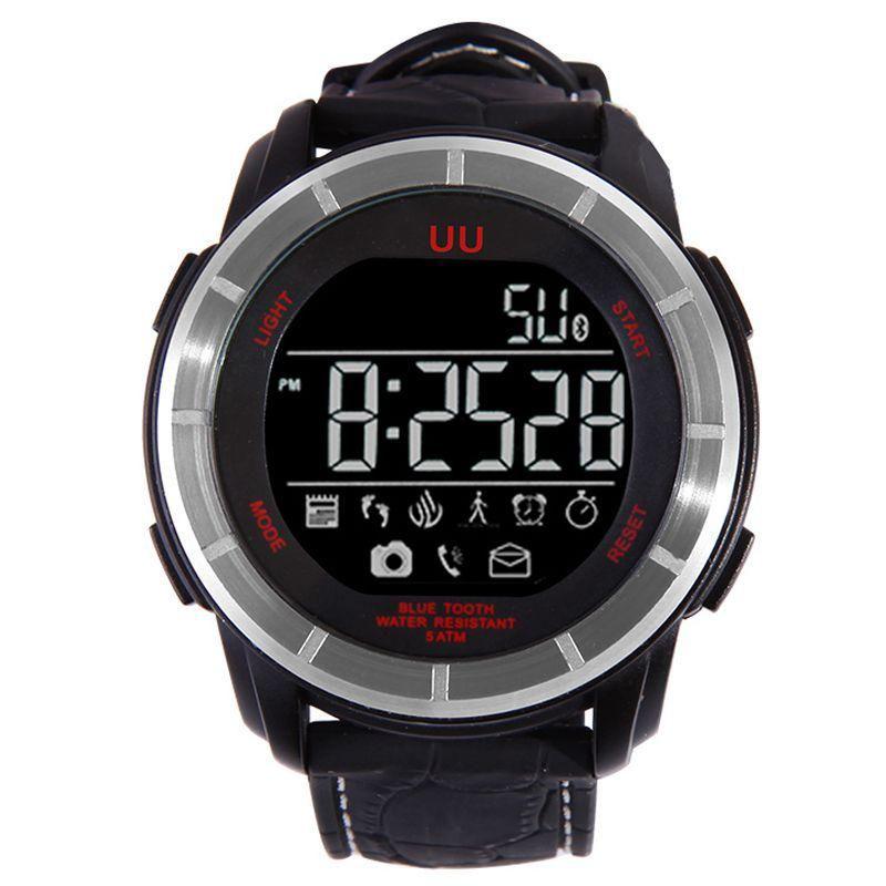 Top Deals UU Bluetooth Smart Watch Waterproof Outdoor