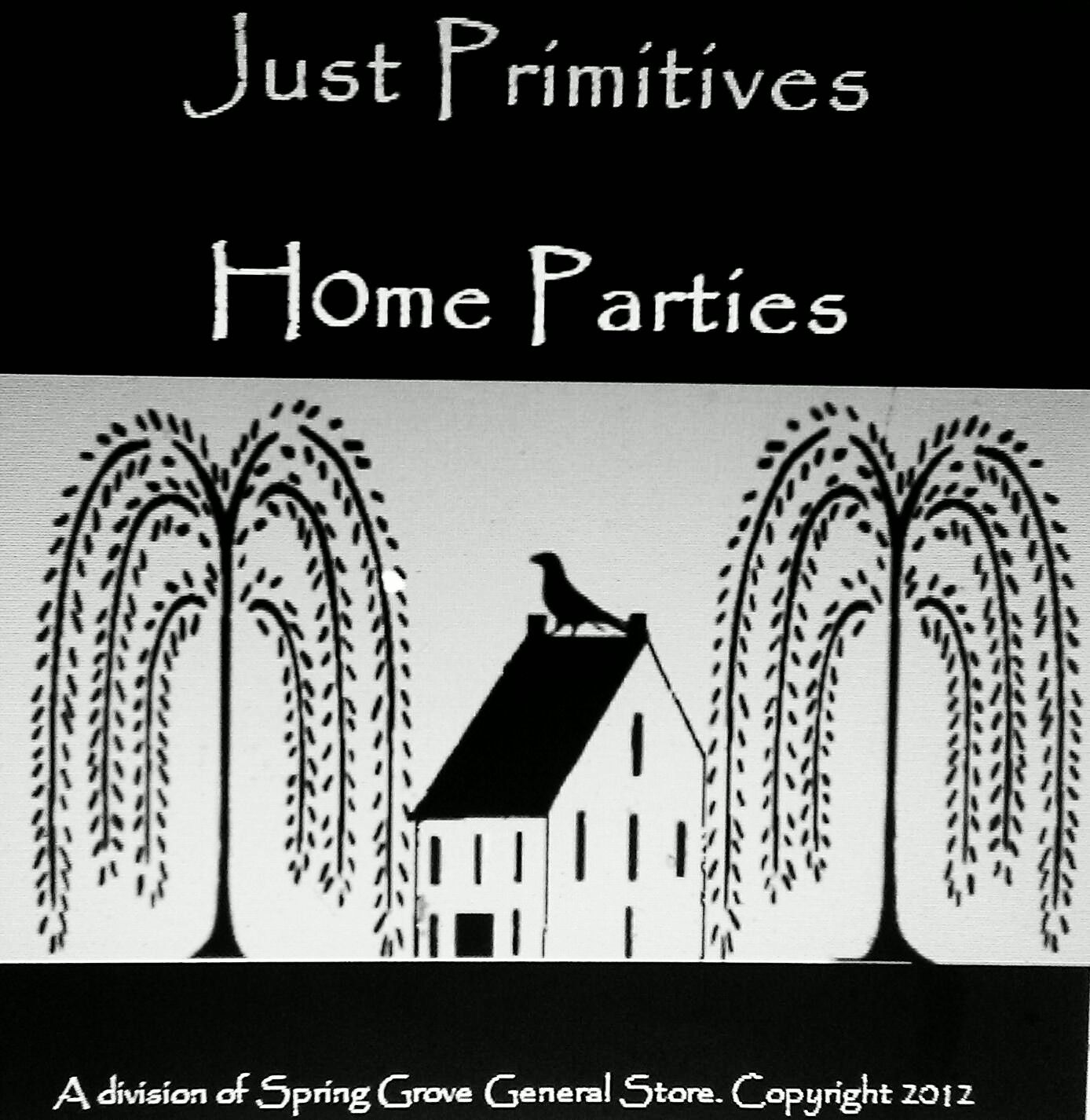 Our Home Party Business (Just Primitives) Logo.