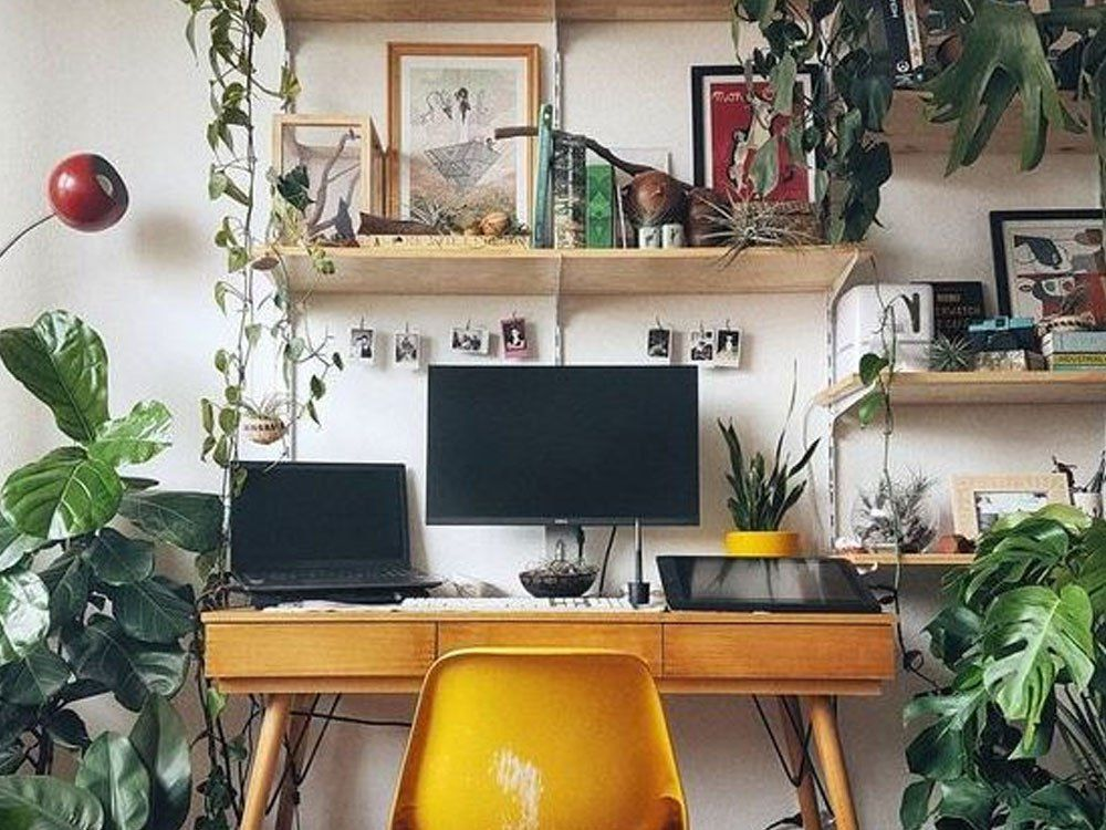 10 Cute Desk Decor Ideas For The Ultimate Work Space Society19 Home Office Decor Small Space Office Interior