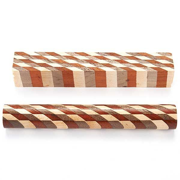 Laminated Wood Projects ~ Laminated wood pen blank turning pinterest