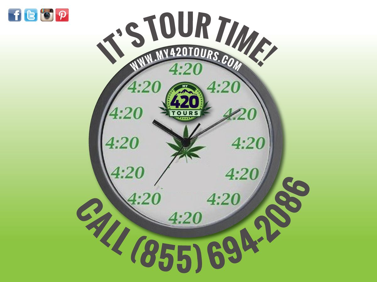 It's time to experience our exclusive ‪cannabis‬ ‪‎Dispensary‬ and Grow‬ tour! Visit My420Tours.com for more info.