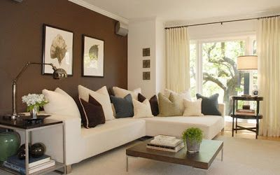 Welcome To Decorarinteriores Biz Accent Walls In Living Room Brown Living Room Living Room Color