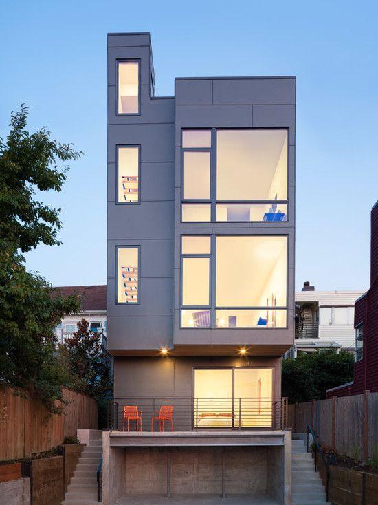 Amazing Modern House Design Transparent Interior Ave City