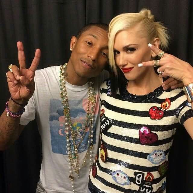 Gwen and Pharrell