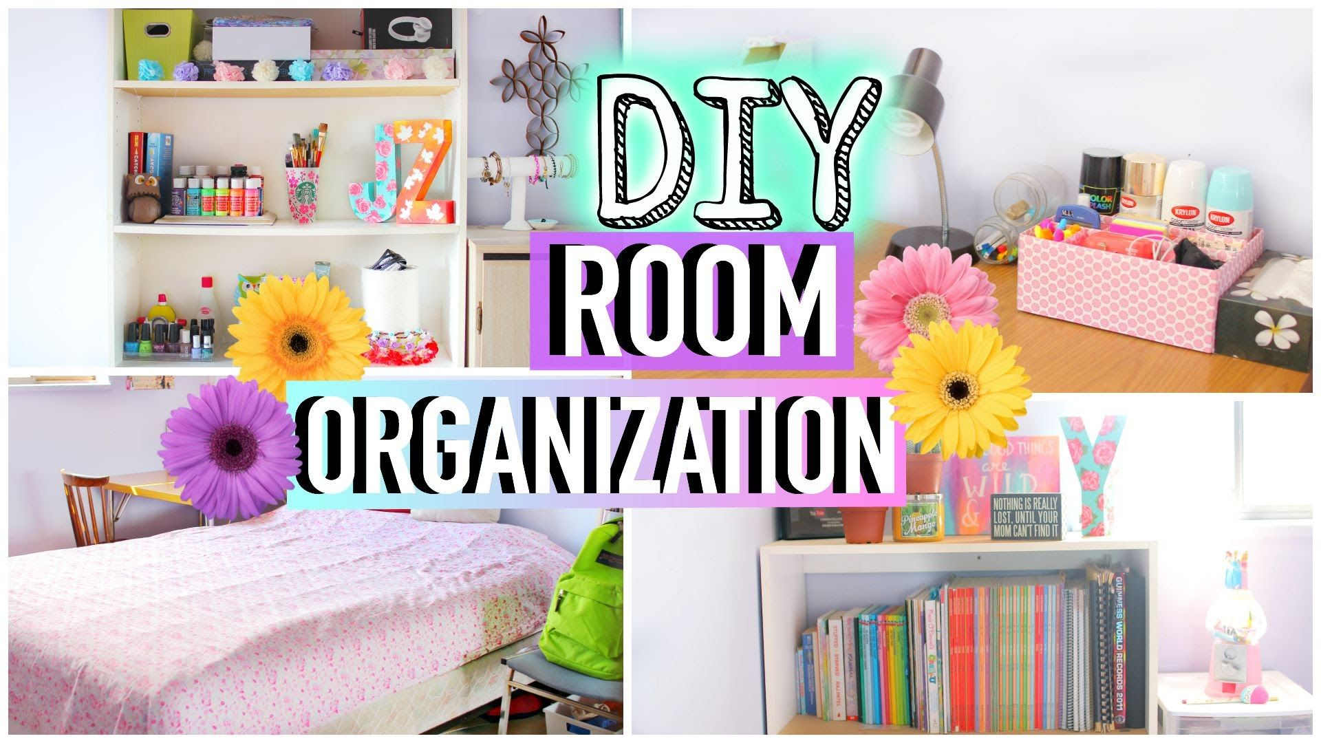 How to Clean Your Room! DIY Room Organization and Storage