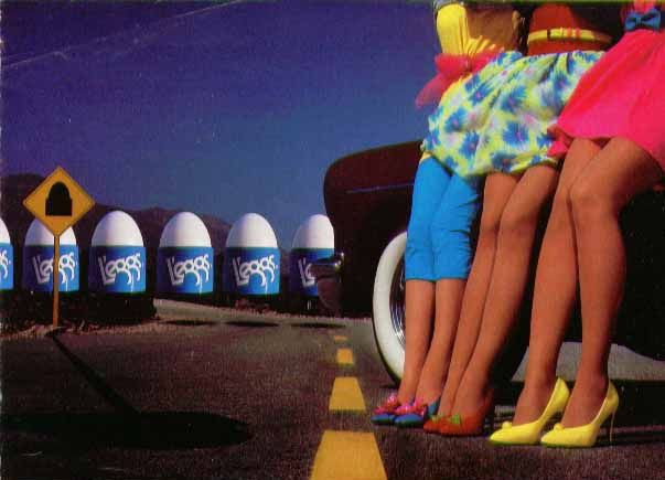 80s Leggs ad by retro-space, via Flickr