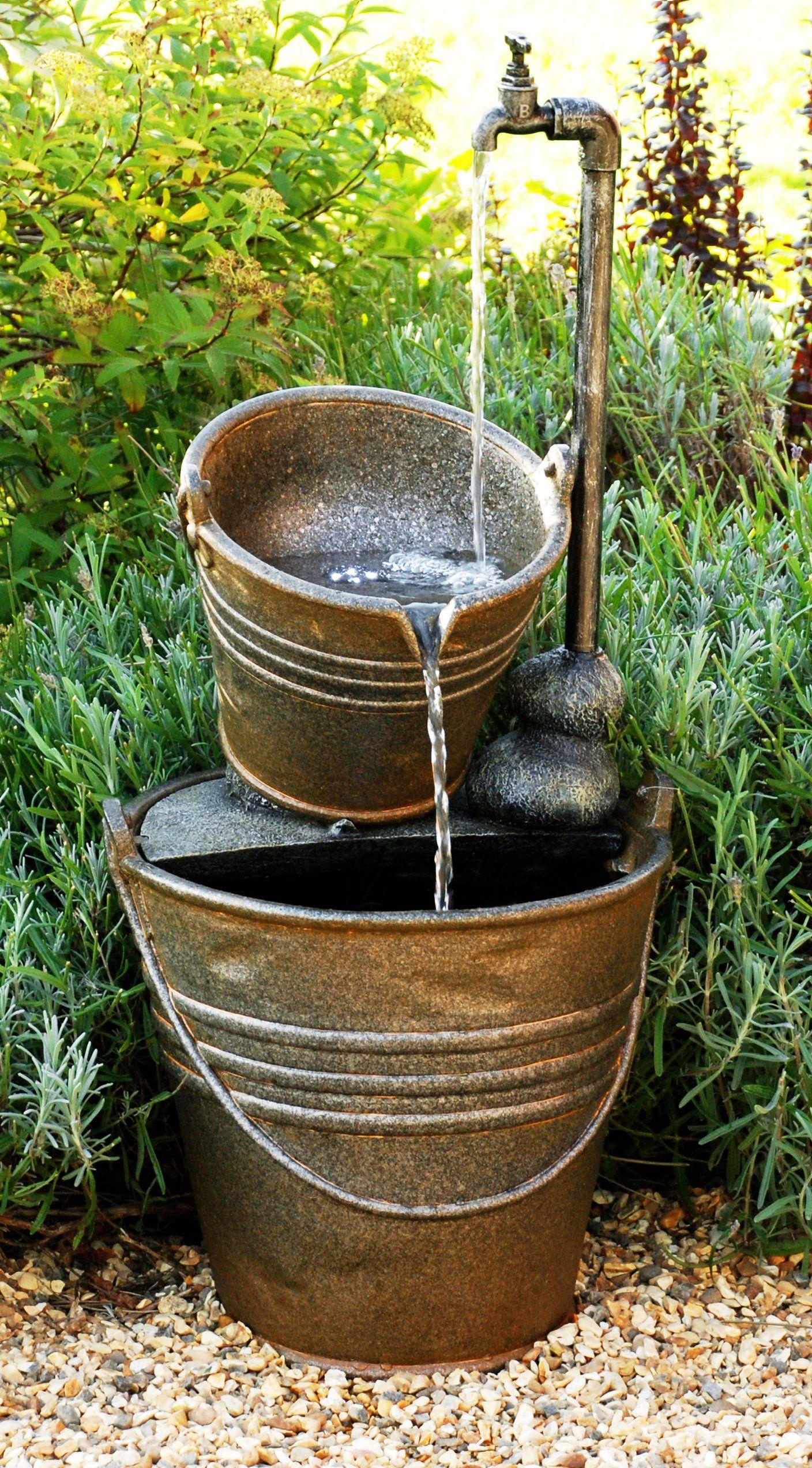 Fuente grifo y calderos con luz hogar pinterest for Grifos con luz