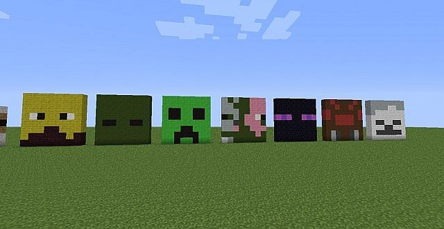 how to become a mob in minecraft