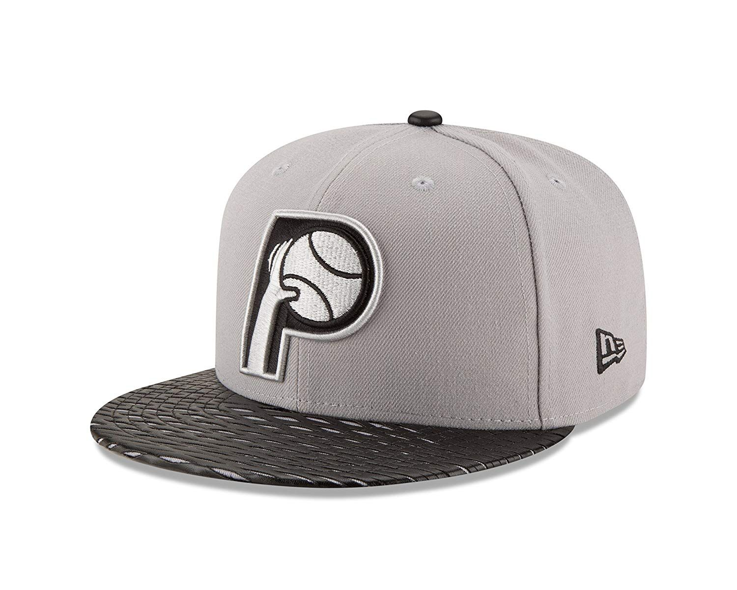 new concept fb60a 7f90d ... new arrivals nba indiana pacers leather rip 59fifty fitted cap 29.80  18e54 cc5c6