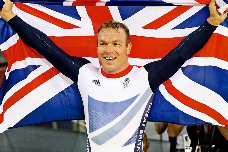 Sir Chris Hoy Leader of the pack who galvanised golden